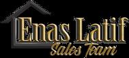 Enas Latif Sales Team Logo